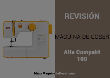 Máquina de Coser Alfa Compakt 100