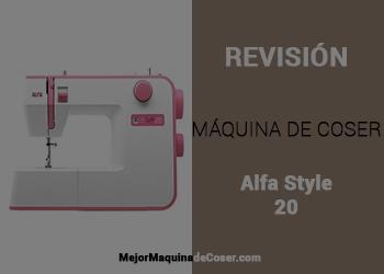 Máquina de Coser Alfa Style 20