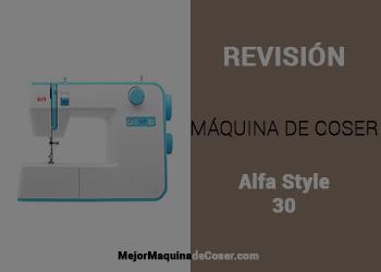 Máquina de Coser Alfa Style 30
