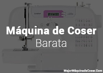 Máquina de Coser Baratas