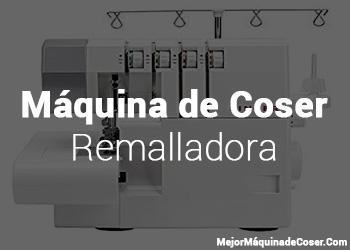 Máquina de Coser Overlock/Remalladora