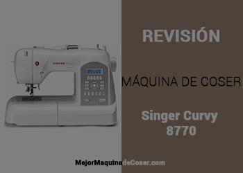 Máquina de Coser Singer Curvy 8770
