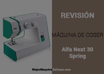 Máquina de Coser Alfa Next 30 Spring