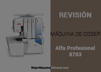 Máquina de Coser Alfa Profesional 8703