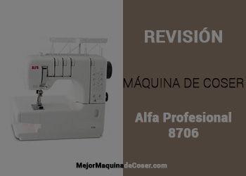 Máquina de Coser Alfa Profesional 8706