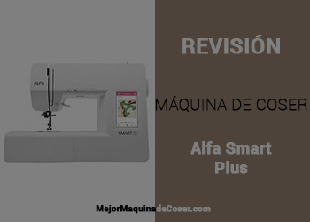 Máquina de Coser Alfa Smart Plus