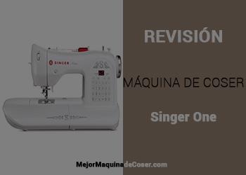 Máquina de Coser Singer One