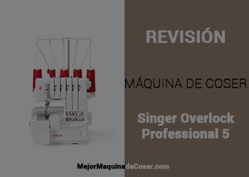 Máquina de Coser Singer Professional 5