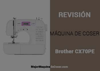 Máquina de Coser Brother CX70PE