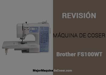 Máquina de Coser Brother FS100WT