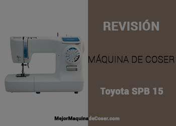 Máquina de Coser Toyota SPB 15