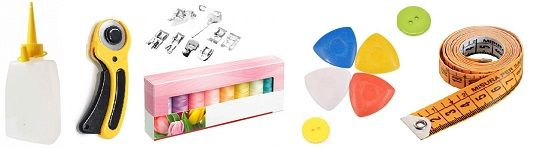 accesorios maquinas de coser