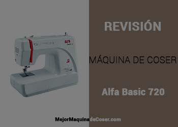 Maquina de Coser Alfa Basic 720