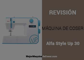 Maquina de Coser Alfa Style Up 30