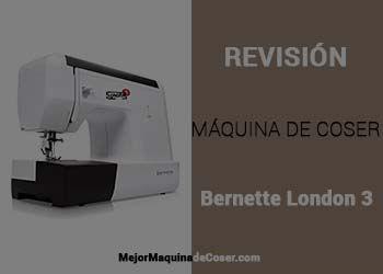 Máquina de Coser Bernette London 3