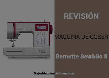 Máquina de Coser Bernette Sew&Go 8