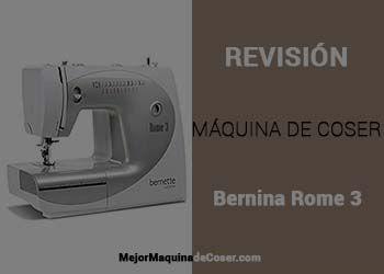 Máquina de Coser Bernina Rome 3
