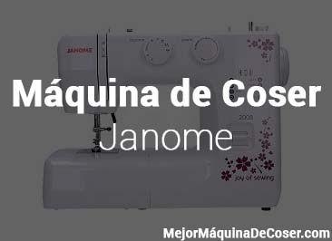 Máquina de Coser Janome