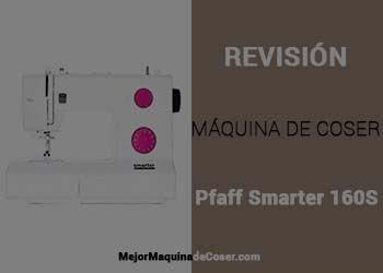 Máquina de Coser Pfaff Smarter 160S