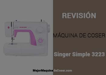 Maquina de Coser Singer Simple 3223