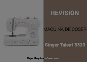 Maquina de Coser Singer Talent 3323