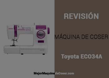 Máquina de Coser Toyota ECO34A