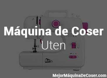 Máquina de Coser Uten
