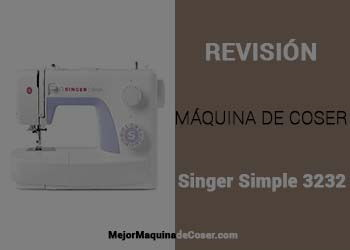 Máquina de Coser Singer Simple 3232
