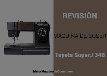 Máquina de Coser Toyota SuperJ 34B