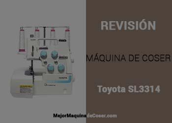 Máquina Remalladora Toyota SL3314