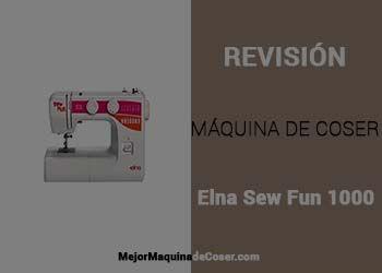 Máquina de Coser Elna Sew Fun 1000