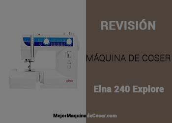 Máquina de Coser Elna 240EX