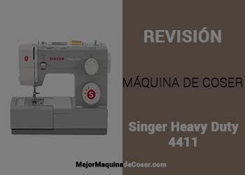 Máquina de Coser Singer Heavy Duty 4411