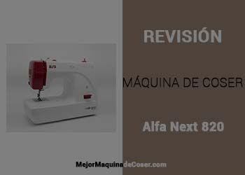 Máquina de Coser Alfa Next 820