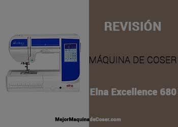 Máquina de Coser Elna Excellence 680