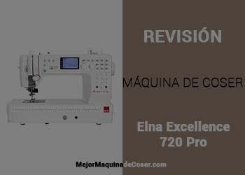 Máquina de Coser Elna Excellence 720 PRO