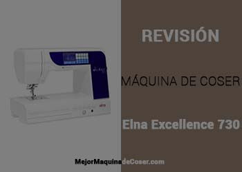 Máquina de Coser Elna Excellence 730