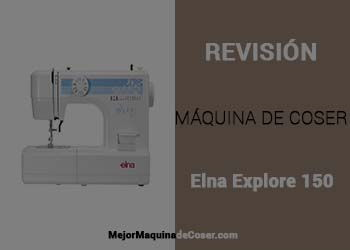 Máquina de Coser Elna Explore 150