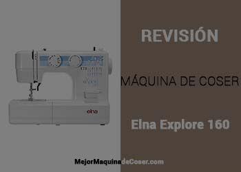 Máquina de Coser Elna Explore 160