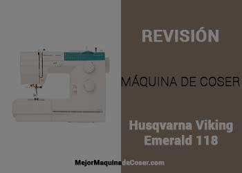 Máquina de Coser Husqvarna Viking Emerald 118