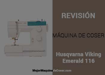 Máquina de Coser Husqvarna Viking Emerald 116