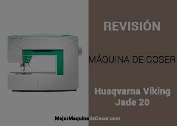 Máquina de Coser Husqvarna Viking Jade 20