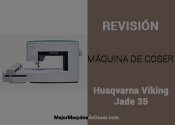 Máquina de Coser Husqvarna Viking Jade 35