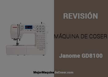 Máquina de Coser Janome GD8100