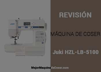 Máquina de Coser Juki HZL LB 5100