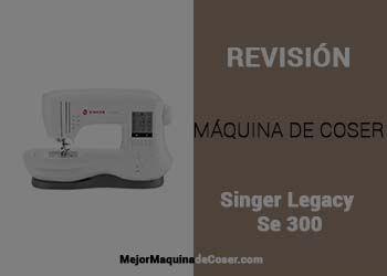 Máquina de Coser Singer Legacy Se 300