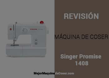 Máquina de Coser Singer Promise 1408