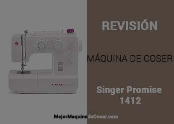 Máquina de Coser Singer Promise 1412