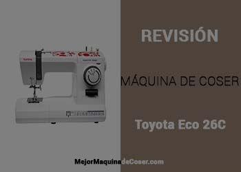 Máquina de Coser Toyota ECO 26C