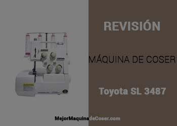 Máquina de Coser Toyota Remalladora SL 3487